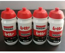 Lot de 4 bidons Lotto Soudal - Tacx
