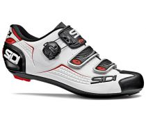 SIDI Road Shoe - ALBA Road Shoe - WHITE/RED - 37 to 47 - SIDI