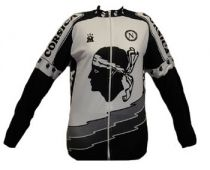 Corsica long sleeves cycling jersey - Marcarini