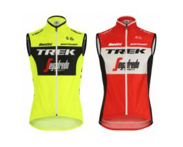 Segafredo trekking vest RED or YELLOW FLUO 2019 - Santini