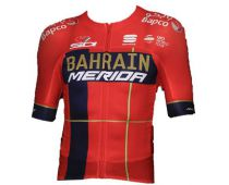 short sleebve jerey BAHRAIN MERIDA 2019 - Sportful