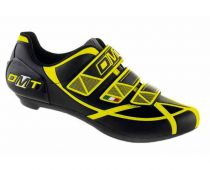 DMT ARIES Road Shoes Black/Yellow - DMT