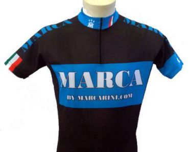 Maillot manches courtes Marca Team - Marcarini