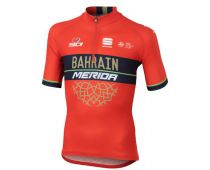 Bahrain Merida Kids Short Sleeve Jersey 2018 - Sportful