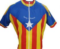Maillot cycliste  Catalunya manches courtes - Marcarini