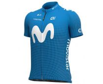 Maillot manches courtes Movistar  2020 - ALE