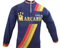 Marcarini Vintage Cycling Long Sleeve Jersey - Marcarini