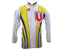 Systeme U 1987 cycliste mythique manches longues - Marcarini